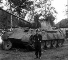 Panzer V Panther Ausf D of 23. Panzer-Division, 1943