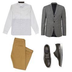 Cuando la elegancia del traje se une a la comodidad de las zapatillas, se crean estilismos para la vuelta a la oficina como el que hoy te presentamos.
