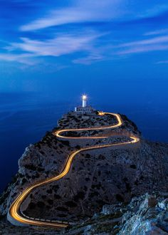 Cap Formentor - Mallorca, Spain - by Matthias Gerth by Ibiza, Places To Travel, Places To See, Spanish Islands, Balearic Islands, Spain And Portugal, Beautiful Places To Visit, Spain Travel, Scenery