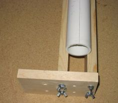 HOW TO MAKE PVC PROJECTS - EASY PLANS, PHOTOS AND DIRECTIONS