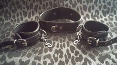 Zado Leather Neck and Handcuffs - Scandarella