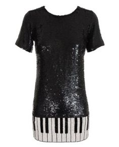 Piano Key Dress- cant lie. I want this
