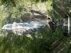 Waterfall in Martigny, Switzerland