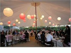 Cornerstone Gardens in Sonoma- we are thinking of something like this for the dinner decoration