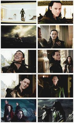Loki (Tom Hiddleston) Thor : The dark world #TomHiddleston #Thor_thedarkworld #movies