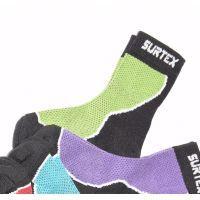 Dětské zelené tenké ponožky surtex - Eshop