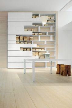 Bibliothèque design par Albed