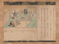 Illustrated Biography of Hōnen (Shūikotokūden-e);  ca. 1310–20 in the Kamakura period (1185–1333).