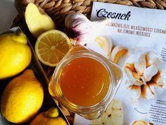 Domowy syrop na poprawę odporności z miodu, czosnku, imbiru i cytryny Grapefruit, Remedies, Home Remedies