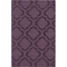 Artistic Weavers Central Park Kate 9' x 12' Rectangular Area Rug, Purple