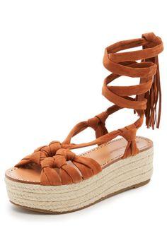 Sigerson Morrison Cosie Flatform Sandals, $325; shopbop.com