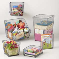 Down to the Wire Storage Collection  $24.95 - $79.00 landofnod.com