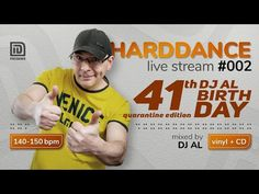 HARDDANCE live stream 002 - 41th DJ AL Birthday - YouTube Club Dance Music, Vinyl Cd, Dj, Retro, Live, Birthday, Youtube, Birthdays, Retro Illustration
