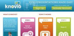 knovio – Transforma powerpoint en videopresentaciones con contenido sincronizado