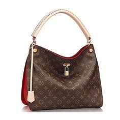 Authentic Louis Vuitton Monogram Gaia Shoulder Handbag Article:M41620 Cherry Made in France