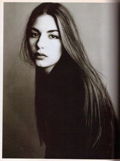 Vogue Italia December 1992 : Sofia Coppola by Steven Meisel