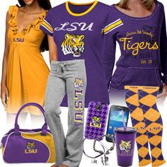 Women's LSU Fan Gear