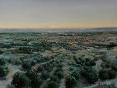 Alt Empordà. Oil on canvas toni cassany 2016