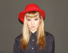 Vintage Red Hat by YBretro on Etsy, $34.00
