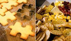 Vamos con un aperitivo casero que gusta mucho a los niños, las galletas saladas. Estas galletas suelen venderse con formas divertidas como nubes, caritas,
