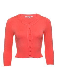 Chessie Cardi | Tangerine | Cardigans Review Fashion, Wardrobes, My Wardrobe, Frocks, Venus, Diamond Jewelry, Knitwear, Art Drawings, Vintage Fashion