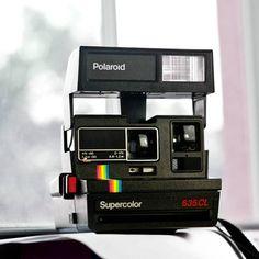 Polaroid Supercolor 635 CL camera  Film by VintageCameraClub, $39.00
