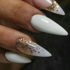 Not a fan of stiletto nails Sexy Nails, Hot Nails, Hair And Nails, Staleto Nails, Coffin Nails, Glam Nails, Manicures, Gorgeous Nails, Pretty Nails