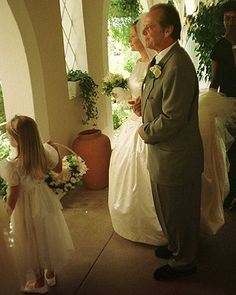 On screen he's a legend, but to his daughter Jack Nicholson's just dad. The doting father escorted Jennifer Nicholson down the aisle at her 1997 Hotel Bel Air wedding.