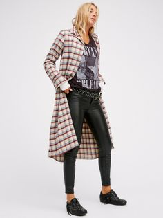 The Flannel Maxi of your dreams
