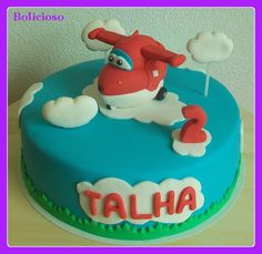 Super Wings taart / Super Wings cake / https://www.facebook.com/bolicioso