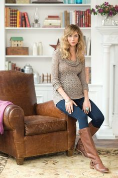 Jessica Simpson Maternity Fashions for Fall - Style on Main