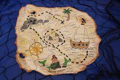 pirate party game: treasure hunt