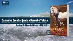 Camucha Escobar junto a Bernabé Tolosa en Radio 10 Mar del Plata FM 102.1