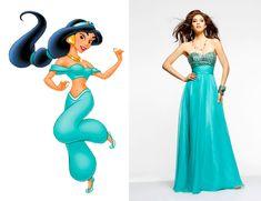 Jasmine   Community Post: If Disney Princesses Went To Prom