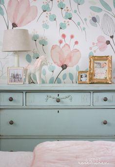 little girls teal and pink bedroom – Project Nursery - Nursery Decoration Idea - Nursery Room