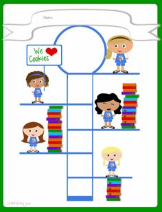 Girl Scouts FREE Printable Cookie Goal Poster - Daisies