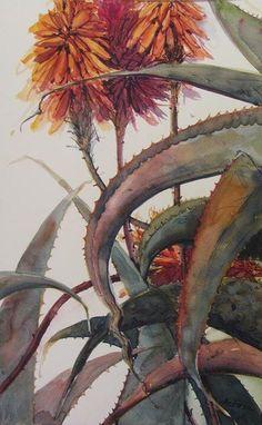 Watercolor Plants, Watercolor Paintings, Watercolour, Flower Paintings, List Of Paintings, Wildlife Art, Botanical Art, Beautiful Paintings, Lovers Art