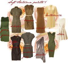 """Soft Autumn palette 1"" by carolgrant on Polyvore"