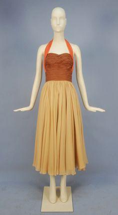 Dress Elsa Schiaparelli, late 1940s- early 1950s Whitaker Auctions