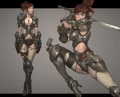ArtStation - character pose_02, NAMGWON LEE