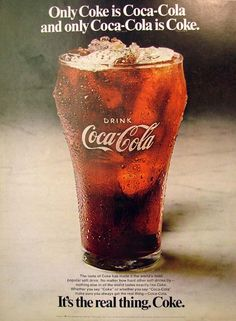 """Why the word """"Coke"""" doesn't mean any other drink. Classic brand-building. Biggest brand in the world."""