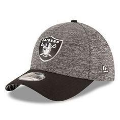 buy popular 1cb44 00ef5 New Era Oakland Raiders Heather Gray Draft 39THIRTY Flex Hat