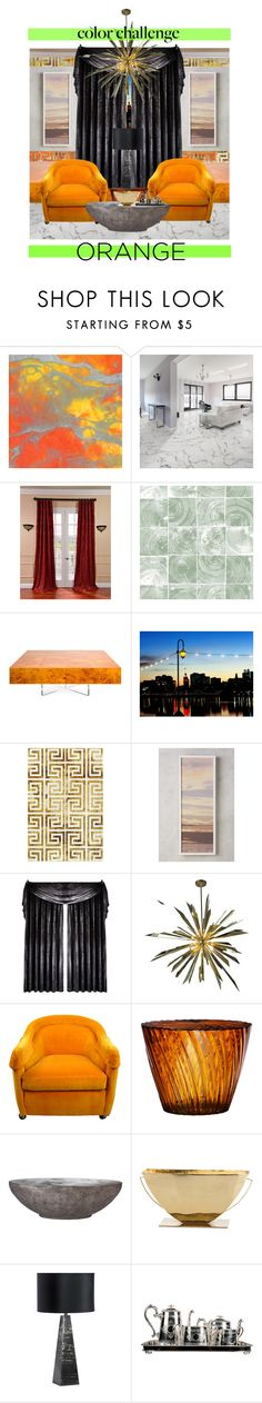 """Hotel Biko"" by janoo22 ❤ liked on Polyvore featuring interior, interiors, interior design, home, home decor, interior decorating, SomerTile, EFF, WALL and Jonathan Adler"