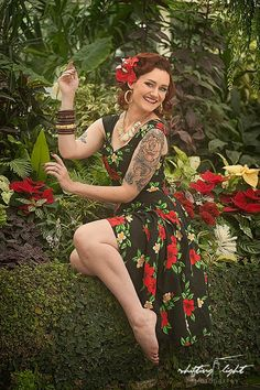 Lovely Tiki shoot at Hamilton Gardens with Shifting Light Photography. Light Photography, Pin Up, Ootd, Photoshoot, My Style, Hamilton, Gardens, Vintage, Color
