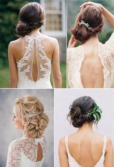 Punđa na stanu jedna je od onih frizura koja dobro stoji svakoj ženi. Postoji mnogo načina da stilizujete punđe na stranu. #svadbenafrizura #svadbe #frizure #wedding #hairstyle #svadba #vencanje #pundja #svecana #bun #bunonside #bridehair