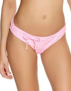 Freya Malibu Fold Bikini Brief Bottoms Pant 3730 Sherbet UK 8 XS