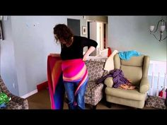 Belly wrap with a longie - YouTube