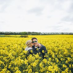 Endless fields of yellow! I saw them from the plane when we landed in Denmark and they don't disappoint!  @davidavidavid