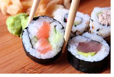 parasites in sushi - Google Search