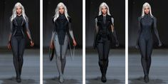 future outfits concept art - Google Search